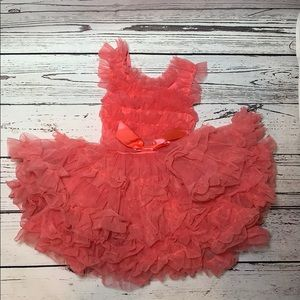 Popatu Pink Tulle Tutu Dress size 18 months